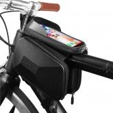CIGNA Torba rowerowa na ramę z uchwytem na telefon (czarne logo)