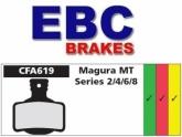 Klocki rowerowe EBC (spiekane) Magura MT Series 2/4/6/8 2012 CFA619HH