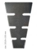 PRINT tankpad CLASSIC shape carbon