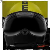 Kask Motocyklowy MOMO FGTR CLASSIC Żółty Mat / Antracyt