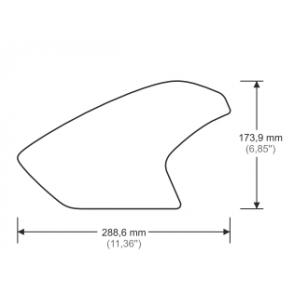 Stompgrip R1200GS BMW 2013/2018 przezroczysty