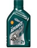Olej silnikowy SHELL 2T ADVANCE VSX 1L (550028470)