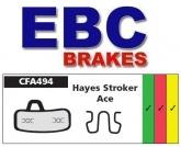 Klocki rowerowe EBC (spiekane) Hayes Stroker Ace CFA494HH