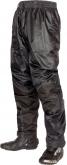 Spodnie motocyklowe przeciwdeszczowe LOOKWELL TORNADO czarne
