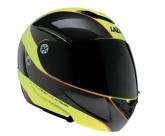 Kask motocyklowy LAZER MONACO Window Pure Glass żółty/antracytowy/pomarańczowy fluo