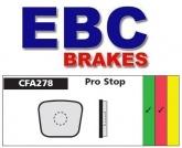 Klocki hamulcowe rowerowe EBC CFA278R PRO STOP