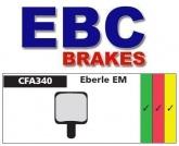 Klocki rowerowe EBC (organiczne wyczynowe) Eberle EM CFA340R