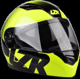 Kask motocyklowy LAZER MH2 Visible czarny/żółty fluo