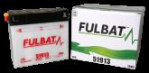 Akumulator FULBAT 51913 (suchy, obsługowy, kwas w zestawie)