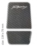 PRINT tankpad carbon MINITANKPAD logo racing