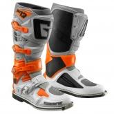 Buty motocyklowe GAERNE SG-12 pomarańczowe/szare/białe rozm. 42