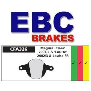 Klocki rowerowe EBC (spiekane) Magura Clara 2001/2002 & Louise 2002/2003 CFA326HH
