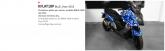 PRINT zestaw naklejek motocyklowych do BMW C600 from 2013 mimetic blu