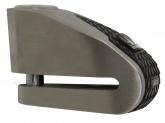 MICHELIN blokada na tarczę z alarmem stal nierdzewna / czarna, średnica bolca 6mm (klasa S.R.A.)