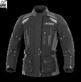 Kurtka motocyklowa damska BUSE Highland czarno-szara