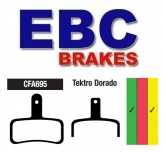 Klocki rowerowe EBC TEKTRO Dorado (HD-E710) CFA695 (1 kpl.)