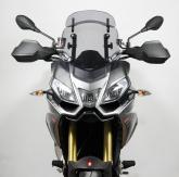 Szyba motocyklowa MRA APRILIA CAPONORD 1200, VK, 2013-, forma VT, przyciemniana