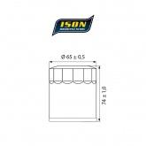 Filtr Oleju ISON 156 (HF156)