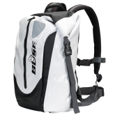 Plecak wodoodporny BUSE 30 litrów biało-czarny