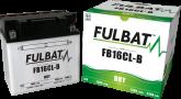 Akumulator FULBAT YB16CL-B (suchy, obsługowy, kwas w zestawie)