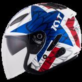 Kask motocyklowy KYT HELLCAT STAR