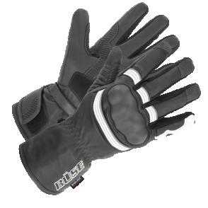 Rękawice motocyklowe BUSE ST Match czarno-białe