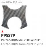 PRINT Naklejka na półkę kierownicy Suzuki V-STROM 2009/2011