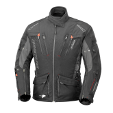 Kurtka motocyklowa BUSE Adventure STX czarno-szara