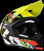 Kask motocyklowy LAZER OR1 JR Aerial czarny/carbon/żółty/czerwony/zielony/matowy