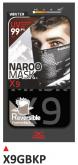 PRINT maska X9 czarne+szara