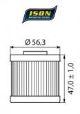 Filtr Oleju ISON 151 (HF151)