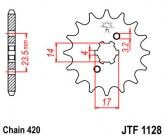 Zębatka napędowa przednia JTF1128.13 - 13 zębów