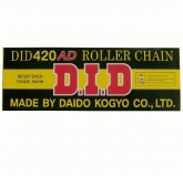 Łańcuch napędowy DID 420AD ilość ogniw 138 (bezringowy)