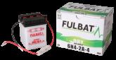 Akumulator FULBAT 6N4-2A-4 (suchy, obsługowy, kwas w zestawie)
