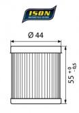 Filtr Oleju ISON 132 (HF132)