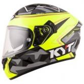Kask motocyklowy KYT NF-R REPLICA ESPARGARO szary
