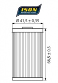 Filtr Oleju ISON 155 (HF155)