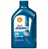 Olej silnikowy SHELL 4T AX7 10W40 1L (550044446)
