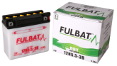 Akumulator FULBAT 12N5.5-3B (suchy, obsługowy, kwas w zestawie)