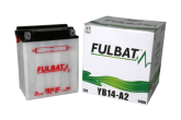 Akumulator FULBAT 12N14-4A (suchy, obsługowy, kwas w zestawie)