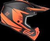 Kask Motocyklowy LAZER OR3 PP3 (kol. Czarny - Czerwony Fluo - Matowy) rozm. M