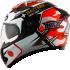 Kask motocyklowy KYT FALCON REPLICA Espargaro czerwony