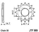 ZEBATKA NAPĘDOWA JT JTF989.21