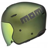 Kask Motocyklowy MOMO AERO (Green Matt / Grey Matt) rozm. L