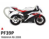 PRINT Dwustronny wypukły brelok na klucze Yamaha R6 2008