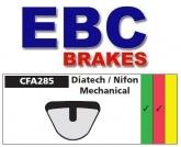 Klocki rowerowe EBC (organiczne wyczynowe) Diatech Kinetic Nifon Mechanical Caliper CFA285R