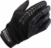 Rękawice motocyklowe letnie LOOKWELL MX TRACK czarne