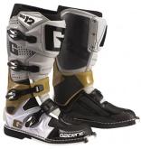 Buty motocyklowe GAERNE SG-12 szare/platynowe/białe rozm. 43