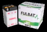 Akumulator FULBAT B49-6 (suchy, obsługowy, kwas w zestawie)