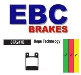 Klocki hamulcowe rowerowe EBC CFA247B HOPE PRO 2